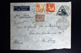 Netherlands East Indies UIVER Return Flight Probolinggo  Naar Den Haag 1934 - Indes Néerlandaises