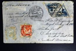 Netherlands East Indies UIVER Return Flight Batavia Naar Curacao  1934 Vlieg Hol. 99 N - Indes Néerlandaises