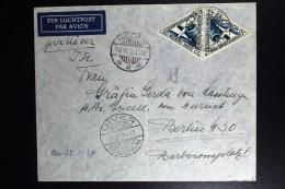 Netherlands East Indies UIVER Return Flight Medan Berlin  1934 - Indes Néerlandaises