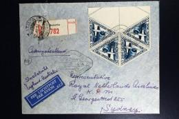 Netherlans East Indies Batavia  To Sydney  Registered Cover  Uiver Snelvlucht 1934 - Indes Néerlandaises
