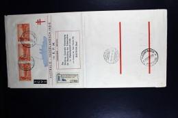 Nederlands Indie: Emma Zegels Op Mac Robertson Airrace Envelop 2x Aangetekend - Indes Néerlandaises