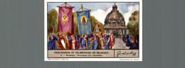 Cromo Liebig  PROCESSIONS ET PELERINAGES EN BELGIQUE  MONTAIGU PROCESSION AUX CHANDELLES - Liebig