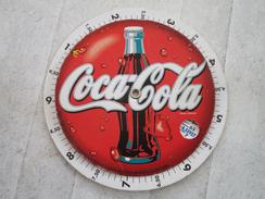 COCA-COLA   Convertisseur à Disque Francs/Euros - Coca-Cola