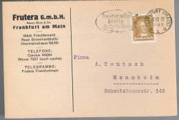 Deutsche Reich, 1928, For Mannheim - Germany