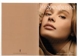 Carte Parfumées  Carte YVES SAINT LAURENT  MAKEUP NEW TEINT COMPACT HYDRA FEEL - Modern (vanaf 1961)
