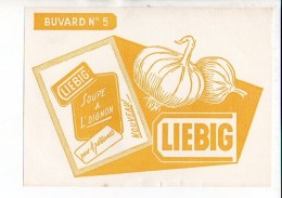 Buvard Publicitaire  / Soupe à L'oignon LIEBIG N° 5 - Animaux
