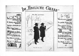 "( 67 STRASBOURG) CALENDRIER 1986 Carte PUB "" IM HAILICHE GRAAB "" Au Dos : Calendrier 1986  PRIX FIXE - Small : 1981-90"
