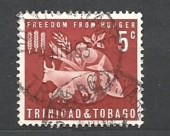 TRINIDAD & TOBAGO      1963 Freedom From Hunger * - Trindad & Tobago (1962-...)