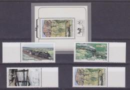 Transkei 1989 Trains 4v + M/s ** Mnh (32652) - Transkei