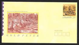 Stamped Envelopes (4) 41¢ Gold Fever Complete Set UNUSED