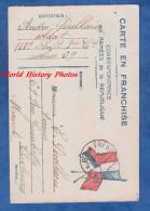 """CPA Franchise Militaire - """" Au Front """" - Fort Témoignage Du Poilu André POULLAIN , 117e Régiment D´Infanterie - 1916 Ww1 - Guerre 1914-18"""
