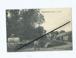 CPA  -  Lamaronde  - La Mare  - Cheval - Chevaux  Attelage - France