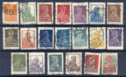 SOVIET UNION 1925 Definitive Set Of 20 With Watermark Perforated 12, Used.  Michel 271-289 I AX - 1923-1991 USSR