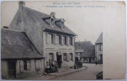 Gruss Aus Alt-Thann - Wirtschaft Zum Goldenen Lamm Von Georg Heinrich - Thann