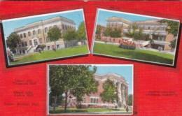 Texas Sherman Multi View Austin College 1945 - Abilene