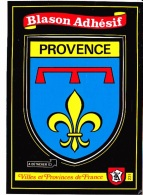 PROVENCE CÔTE D´AZUR, Blason Adhésif, Ed.Kroma 1990 Environ - Provence-Alpes-Côte D'Azur