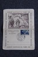BEZIERS - Carte Lettre N° 52056 De La Journée Nationale Du Timbre De 1943. - France