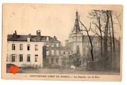 10366-LE-59-INSTITUTIONN LIBRE DE MARCQ-La Chapelle,vue Du Parc - Marcq En Baroeul