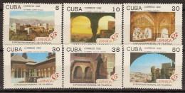Cuba 3207/3212 ** MNH. 1992. Alhambra - Cuba