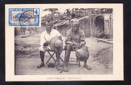 CGO-12 CONGO FRANCIAS CHEFS PAHOUINS - Congo Francese - Altri