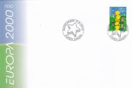 Aland FDC 2000 Europa CEPT    (G76-140) - Aland