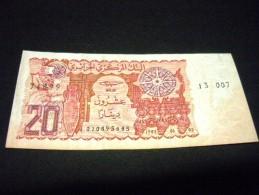 ALGERIE 20 Dinars 02/01/1983 , Pick N° 133, ALGERIE - Algérie