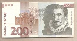 Slovenia - Banconota Circolata Da 200 Talleri - 2001 - Slovenia