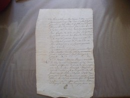 18 FEVRIER 1748 CONSEILLER DU ROY RECEVEUR DU DOMAINE PARIS JACQUES BOUCOL LECUYER - Manuscrits
