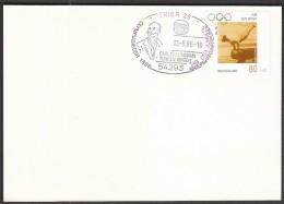 Germany Trier 1996 / 100 Years Of The Olympic Games / Carl Schumann / Gymnastics, Wrestling, Olympic Medalist 1896