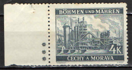 BOEMIA E MORAVIA - 1940 - MORAVSKA OSTRAVA - NUOVO MNH - Boemia E Moravia