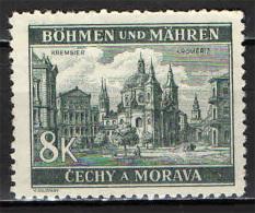 BOEMIA E MORAVIA - 1940 - KROMERIZ - NUOVO MNH - Unused Stamps