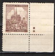 BOEMIA E MORAVIA - 1940 - BRNO - NUOVO MNH - Boemia E Moravia