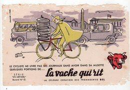 Sept16  76461   Buvard  LA VACHE QUI RIT    Les Métiers  N° 10 - Blotters