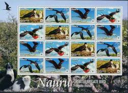 Nauru, Birds, WWF, 2008, Sheet - W.W.F.