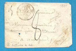 Corrèze - Ussel Pour Aubusson. CàD Type 12 . 1831 - 1701-1800: Precursori XVIII