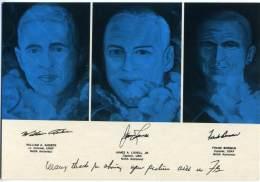 BORMAN  LOWEL  ANDERS  I Primi Astronauti Americani Sulla Luna  Ritratti Da Luciano Torre  Museo NASA - Astronomia