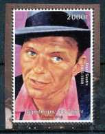 Niger 1998 - Frank Sinatra - Célébrité, Chanteur, Acteur, Cinéma - Cinema