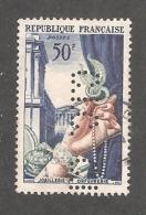 Perforé/perfin/lochung France No 973 C.I.C.  Crédit Industriel Et Commercial (174) - Perfins