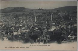 St. Gallen Vom Rosenberg Aus - Photo Wehrli No. 12935 - SG St. Gall