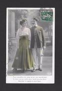 COUPLES - CARTE ÉCRITE EN 1908 - POUR CONNAÎTRE LES JOIES DE CE JEU MERVEILLEUX - MAGNIFIQUE TIMBRE - Couples