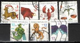 REPUBBLICA CECA - 1998 - SEGNI ZODIACALI - USATI - Czech Republic