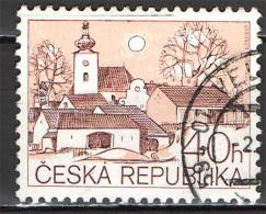 REPUBBLICA CECA - 1995 - ARCHITETTURA RURALE - USATO - Tschechische Republik