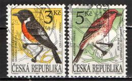 REPUBBLICA CECA - 1994 - UCCELLI - BIRDS - USATI - Gebraucht