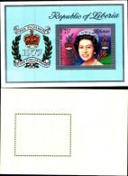 83696) Liberia-1977- 25°ann. Della Incoronazione Di Elisabetta II-BF-101 -nuovo-cat-6 Euro - Liberia