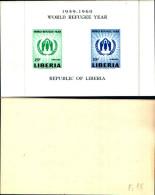 83704) Liberia-1977- Anno Mondiale Del Riffugiato -BF-15+ E 2 Bf  -nuovi-cat-20 Euro - Liberia