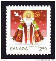 CANADA 2014, # 2800, CHRISTMAS  SANTA CLAUS  INTERNATIONAL  Rate , Single Stamp  MNH - Carnets