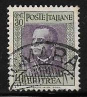 Eritrea, Scott # 152 Used Victor Emmanuel Lll, 1931 - Eritrea