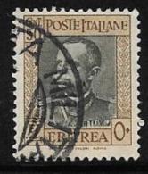 Eritrea, Scott # 154 Used Victor Emmanuel Lll, 1931 - Eritrea