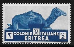 Eritrea, Scott # 158 MNH Camel, 1934 - Eritrea