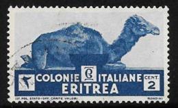 Eritrea, Scott # 158 Used Camel, 1934 - Eritrea